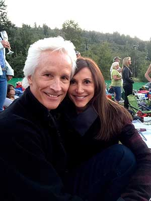 Jaki and Michael at Deer Valley Music Festival