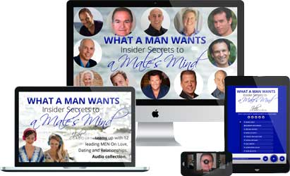 What a Man Wants Audio collection – Insider Secrets to help you read a man's mind! Jaki teams up to chat with 12 leading men including Dr. John Gray on love, dating and relationships.