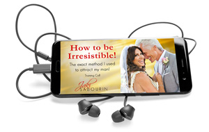"•	The ""How to be Irresistible"" Audio File - The exact strategy Jaki used to attract her husband. This audio is about mastering the power of flirtation and feminine essence to become an unstoppable force of attraction!"